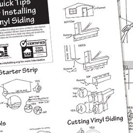 How to install vinyl siding around windows