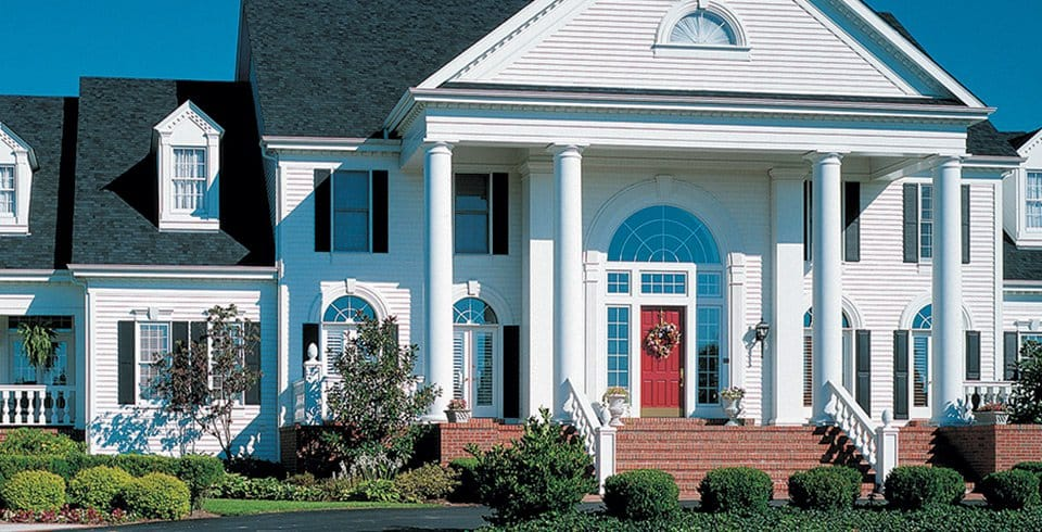 Greek Revival Clapboard Vinyl Siding Institute Vsi