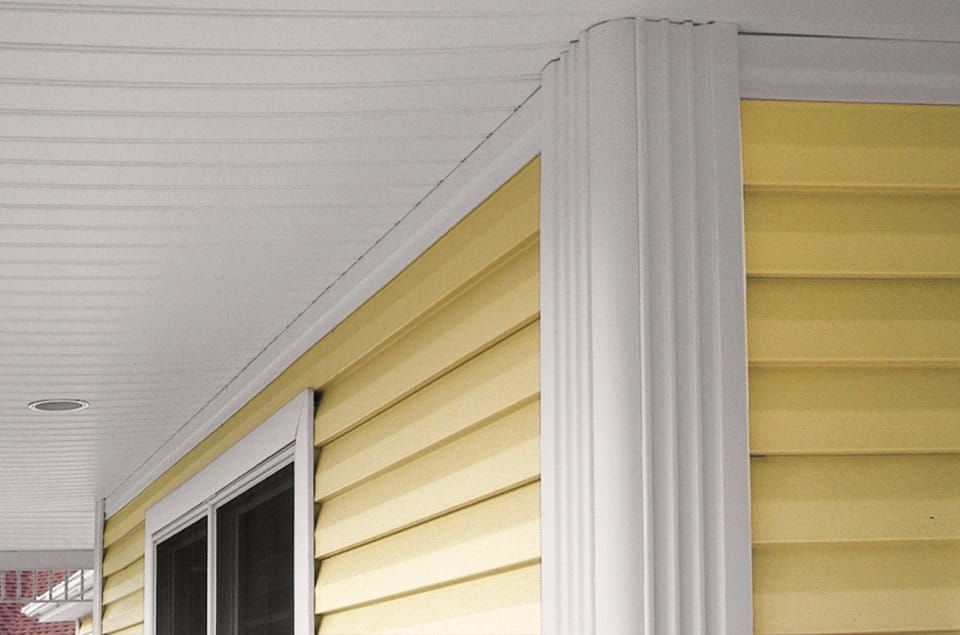 Soffit And Beaded Corner Vinyl Siding Institute Vsi