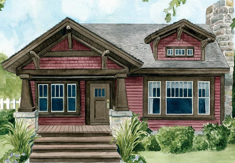Craftsman Style Gable Decoration Home Decorating Ideas