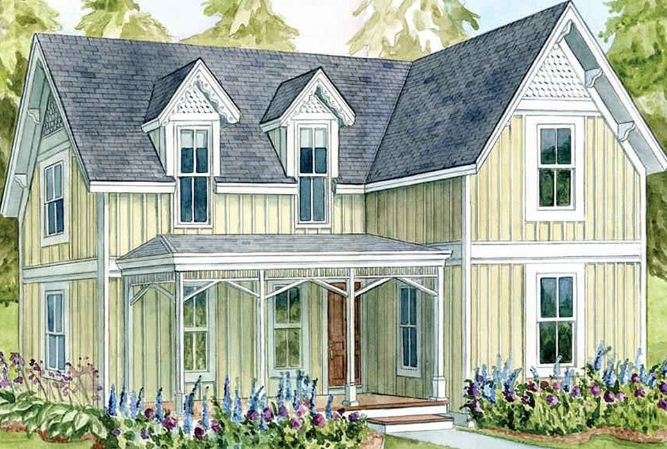 Victorian porches pictures file eureka california for Victorian gingerbread house plans