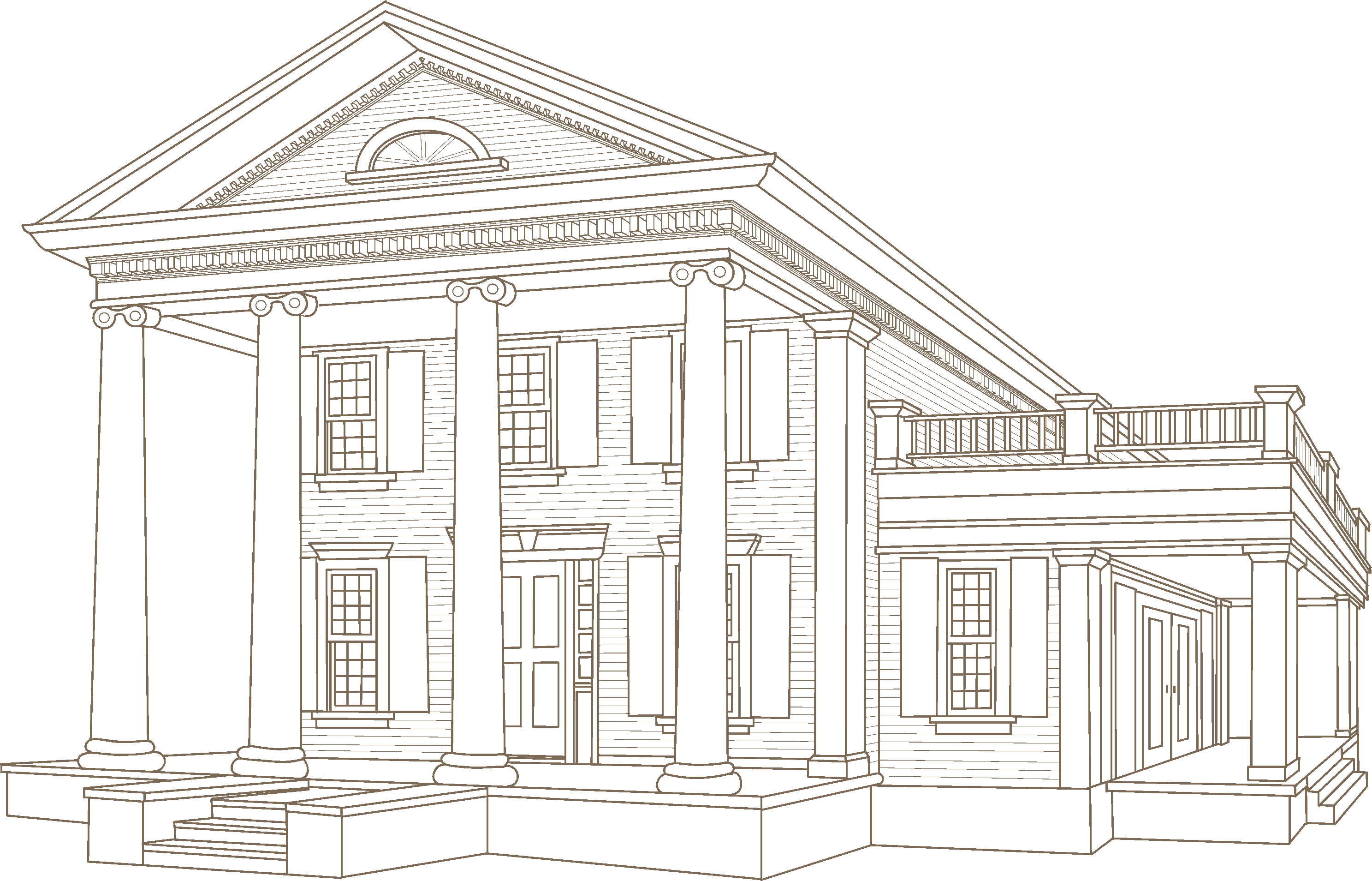 Greek Revival - Architectural Styles - Vinyl Siding - VSI