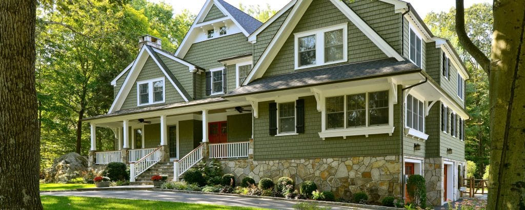 Dark Green Exterior House Colors