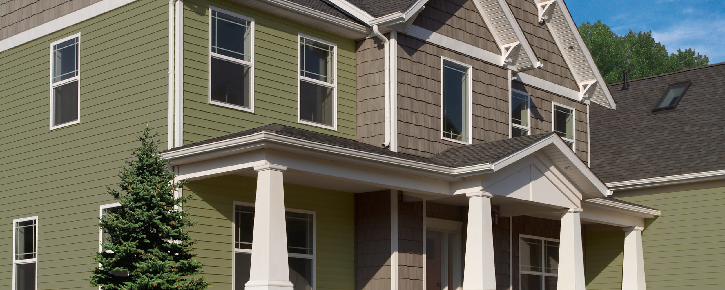 Sustainability of vinyl siding green building products vsi for Sustainable siding