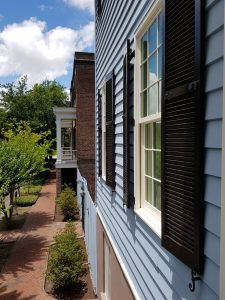 Polymeric Shutters in Savannah